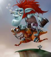 Toon Troll by MicreroFurioso