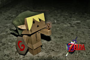 Danbo: Link's small key by eivven