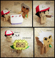 Danbo: Pokemon I by eivven