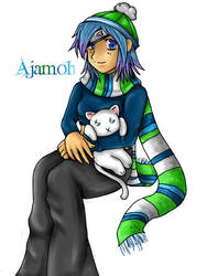 Gaia :: Ajamoh Commission by Baka-TsuChan