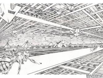 commission: Self organizing programs and robots by aszantu