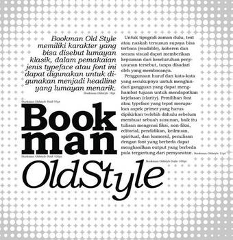 BookmanOldStyle by auua