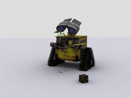 Another Wall-E Render by GeneralFOL