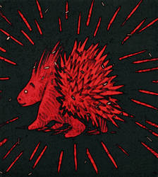 flaky the porcupine by creepycookies