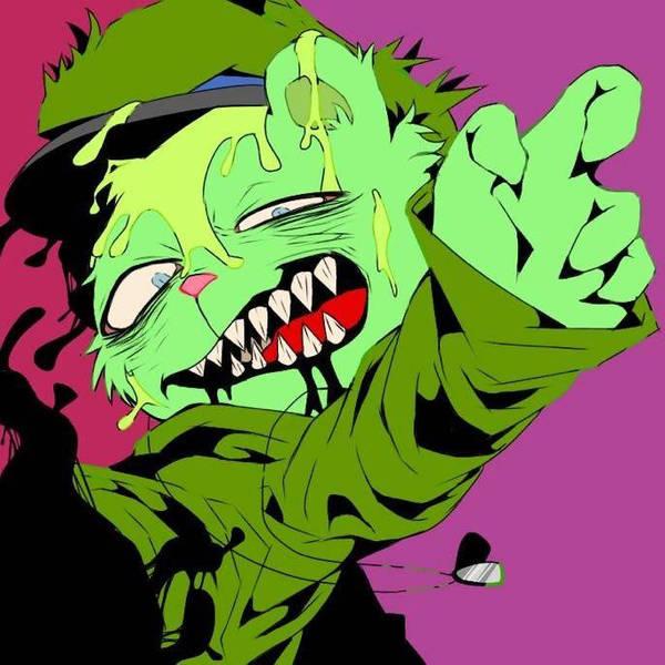 zombie fliqpy LMAO by creepycookies
