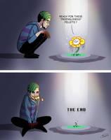 When Flowey meets Anti... by maskman626