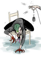 Silly sketch - Discipline by maskman626