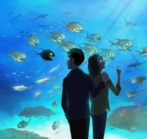 Aquarium by maskman626