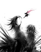 1hr sketch - Slay by maskman626