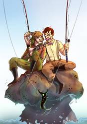 Fishing by maskman626