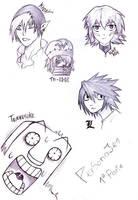 Personajes favoritos de mangas by SiriusDMax