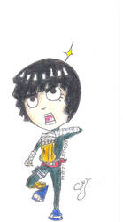 Rock Lee Chibi by SiriusDMax
