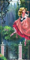 Dancing Princess Bookmark by BetterthanBunnies