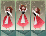 Chitty Chitty Triptych by BetterthanBunnies