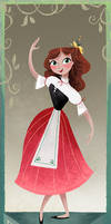 Chitty Triptych girl 1 (small) by BetterthanBunnies