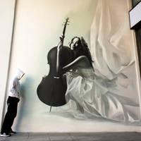 SheMadeMagic by urban-street-art