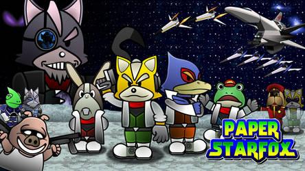 Paper StarFox by GEO-GIMP
