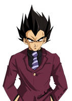VEGETA is STYLE by Sandra-delaIglesia