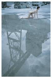 Industrial Nudescape 1 by Scherbius