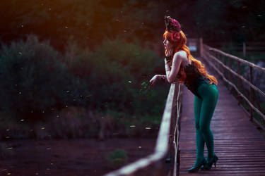 In the glow of fireflies by UniCatCosplay