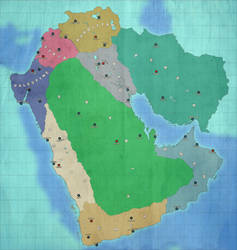 Alternate Middle East Map By Pangeaball On Deviantart