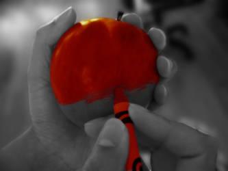 Making the apple by Hiawatha