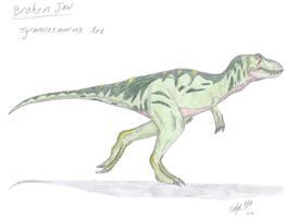 JP: Tyrannosaurus Rex by Sinncrow