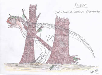 JP: Carnotaurus Sastrei Chamaeleo by Sinncrow