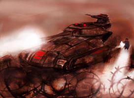 Scorpion tank is ready by swirekster