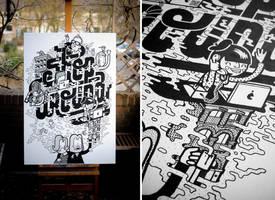 Shop Around Canvas by miZter-maZe