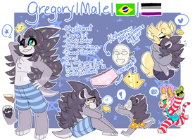 Gregory's Prince Ref Sheet! by SpringBelleBunnie