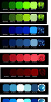 Gradient Color Swatches by Jazzglenn421