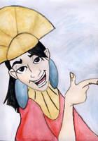 Emperor Kuzco by dansetsu