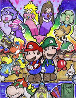 ANOTHER paper mario pic by DLT9