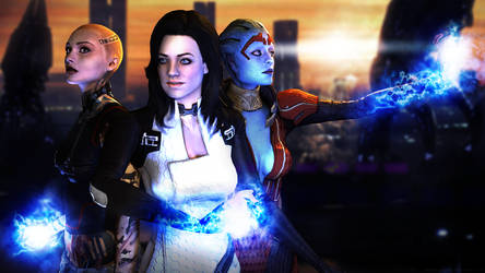 Mass Effect 2 - The Lady Biotics by andersoncathy