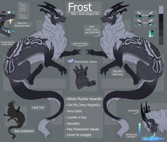 Frost - Main Dragon by BlueFOR3V3R