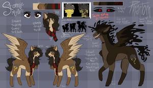 Stormie Mystery - Main Pony OC by BlueFOR3V3R