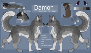 Damon - Main Doggo by BlueFOR3V3R