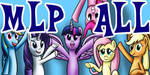 MyLittlePony-MLP-ALL Group icon (Full size) by MisiekPL