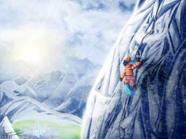 Climbing Mount Everhoof by MisiekPL