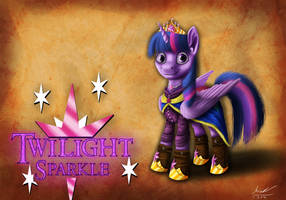 The Princess of Friendship - Twilight's Design by MisiekPL