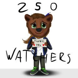 250 Watchers! by MisiekPL