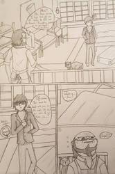 Persona 5 Comic Part 1 by sammyscott