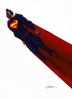 The New Superman by Jorell-Rivera