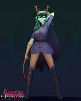 Huntress Wizard HYPE! by ametotaiyou