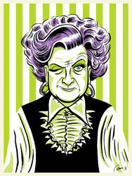 Mrs. Slocombe from Are You Being Served? by Hefnatron