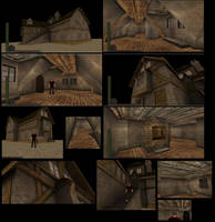 House with stairs inside 10 by DennisH2010