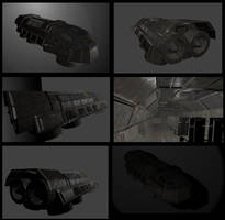 Transport Shuttle Wip by DennisH2010