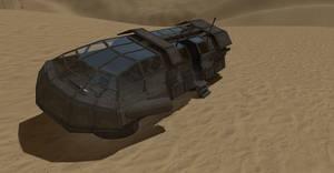 Transport Shuttle YafaRay render by DennisH2010