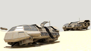 Shuttle cycles render by DennisH2010
